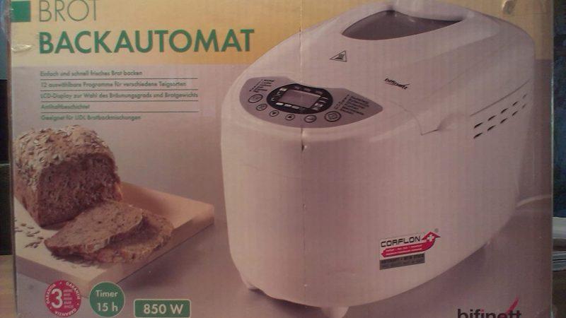 Comment choisir la meilleure machine à pain Bifinett ?